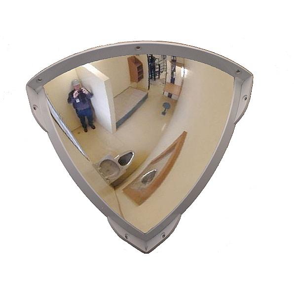 Quarter Face Polycarbonate Institution Mirror