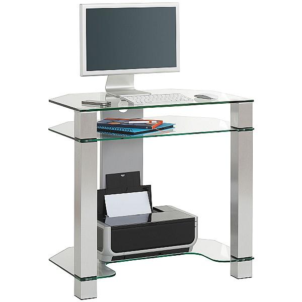 Montmartre Glass Computer Desk