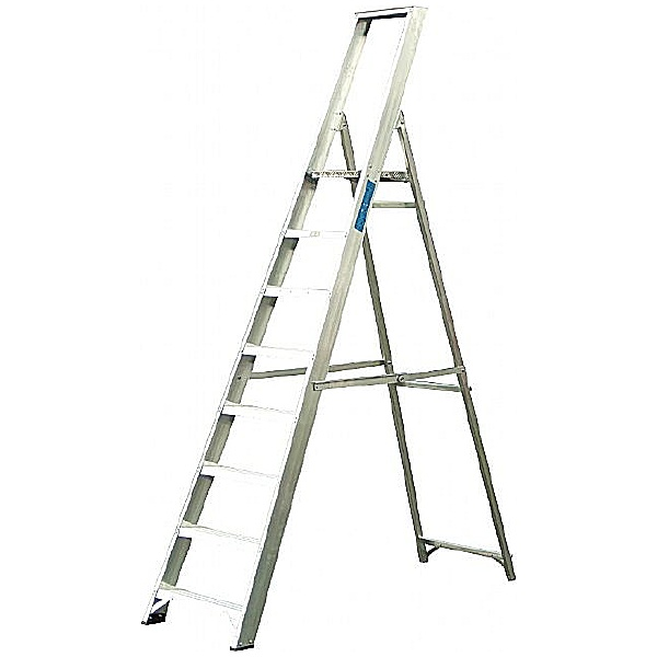 Lyte Industrial Platform Step Ladders