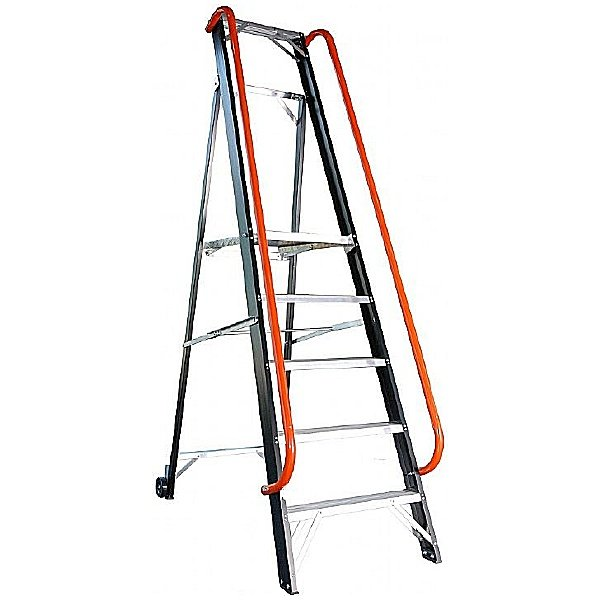 Industrial SuperPro Platform Step Ladders
