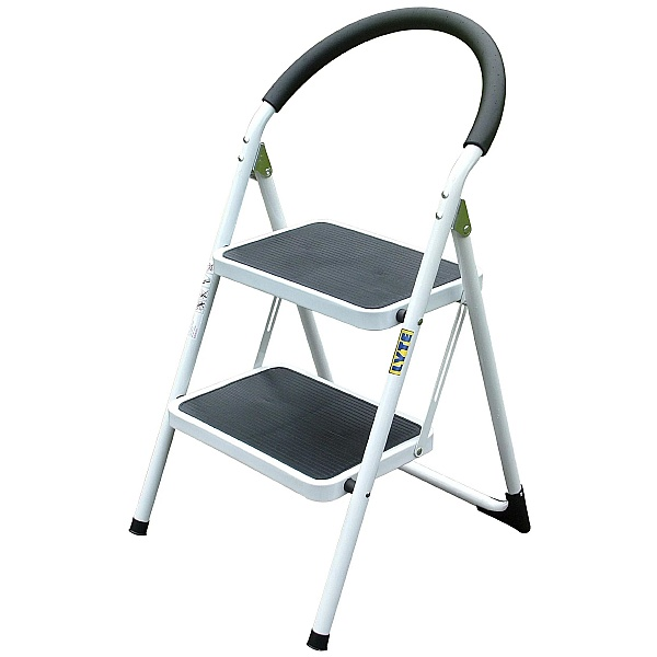 Lyte Step Stool With Comfortable Foam Handle