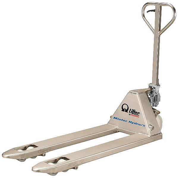 Pramac Mr Hydro GSX 2500kg Galvanised / Stainless Steel Pallet Trucks
