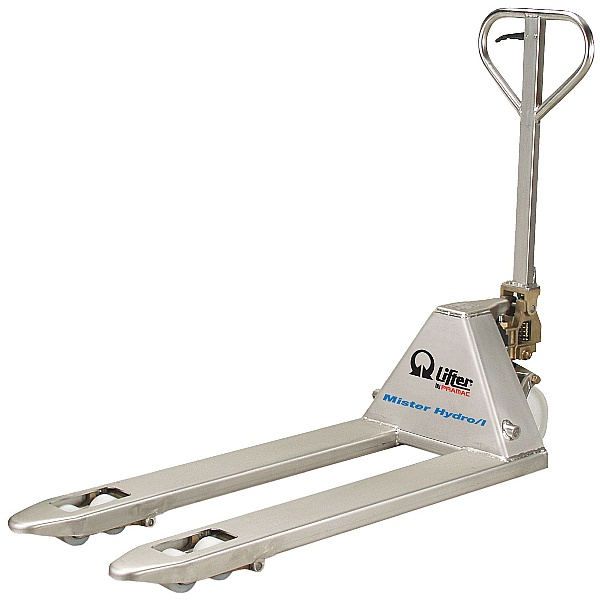 Pramac Mr Hydro GSI 2500kg Stainless Steel Pallet Trucks