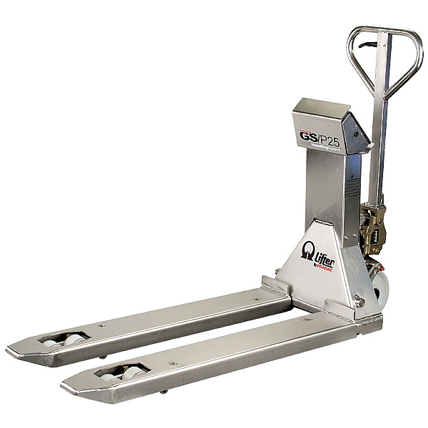 Pramac GSP 2500kg Stainless Steel Weigh Scale Pallet Trucks