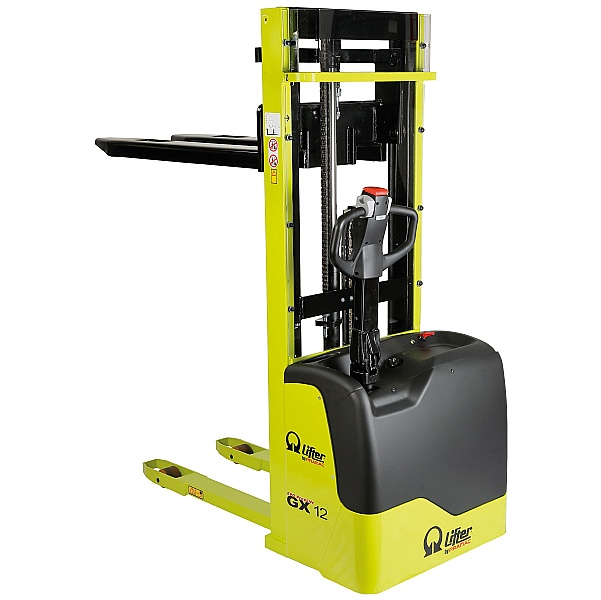 Pramac GX 12/29 Freelift Evo lll Edition Electric Pallet Stackers - 1200kg Capacity