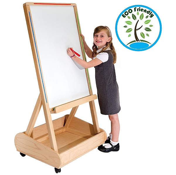 Little Acorns Solid Wood Store 'N' Write Whiteboards