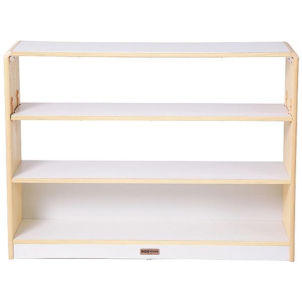 Alps Open Back 3 Shelf Classroom Bookcase
