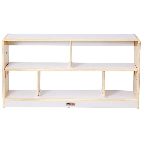 Alps Open Back 5 Compartment Classroom Bookcase