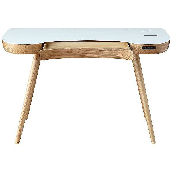 Pacific Ergonomic Laptop Desk With Smart Charging and Bluetooth Speakers