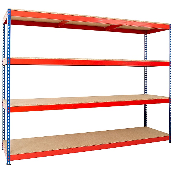 Extra Wide Heavy Duty Rivet Shelving