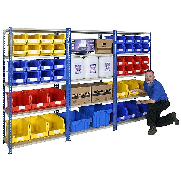 Medium Duty Rivet Shelving