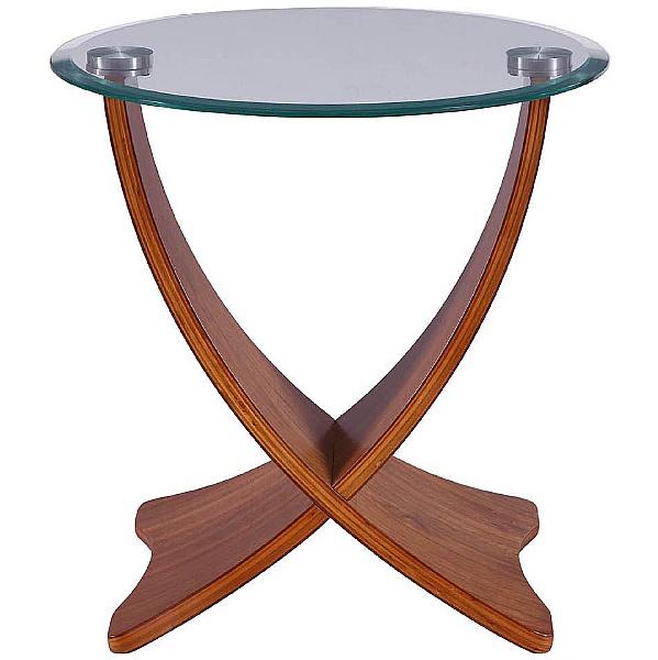 Julia Glass Lamp Table