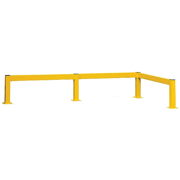 Lift Out Modular Single Rail Barriers