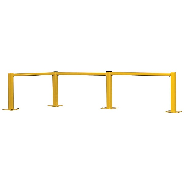 Single Rail Round Tube Modular Barriers