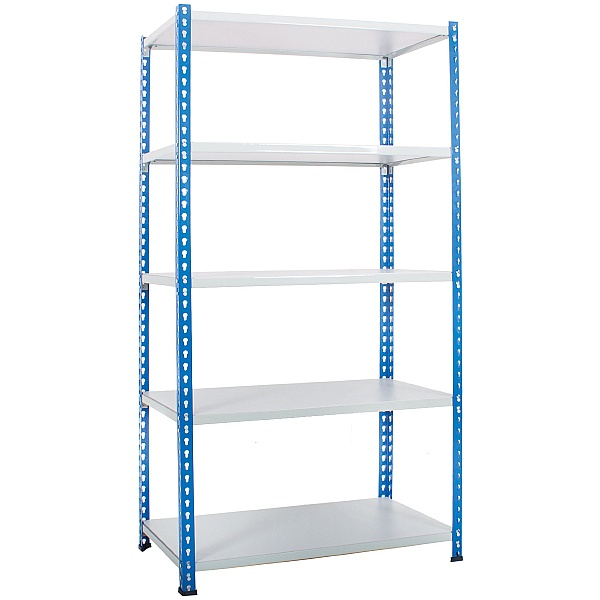Light Duty Easy Clean Rivet Shelving