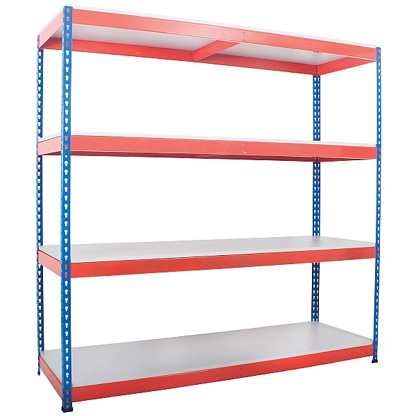 Heavy Duty Easy Clean Rivet Shelving