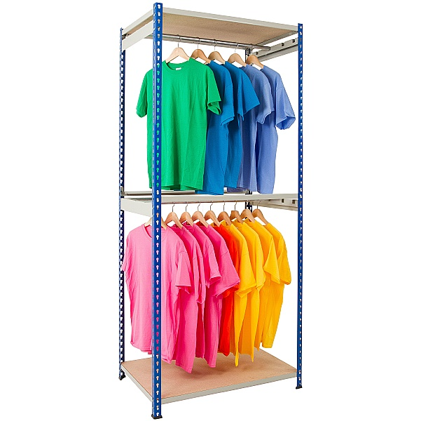 Single Rail Garment Rack