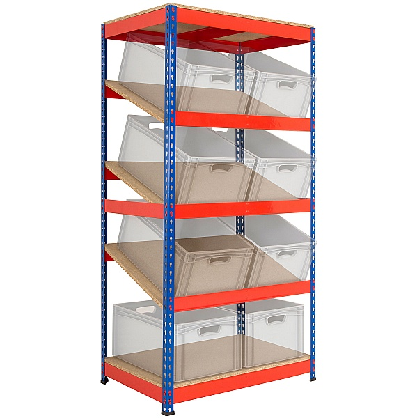 Kanban Inclined Rivet Shelving System