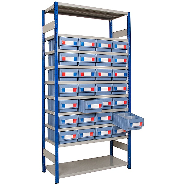 Clip-Fit Boltless Shelving and Tray Kit D