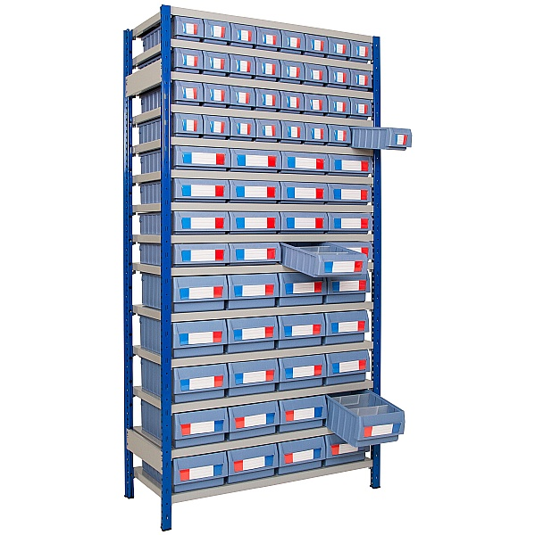 Clip-Fit Boltless Shelving and Tray Kit E