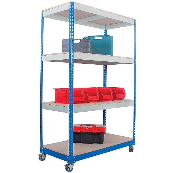 Light Duty Rivet Shelving Trolley