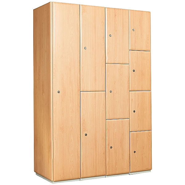 Select Wood Effect Lockers