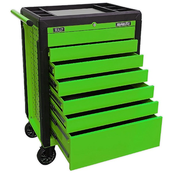 Sealey 7 Drawer Push To Open Rollcab