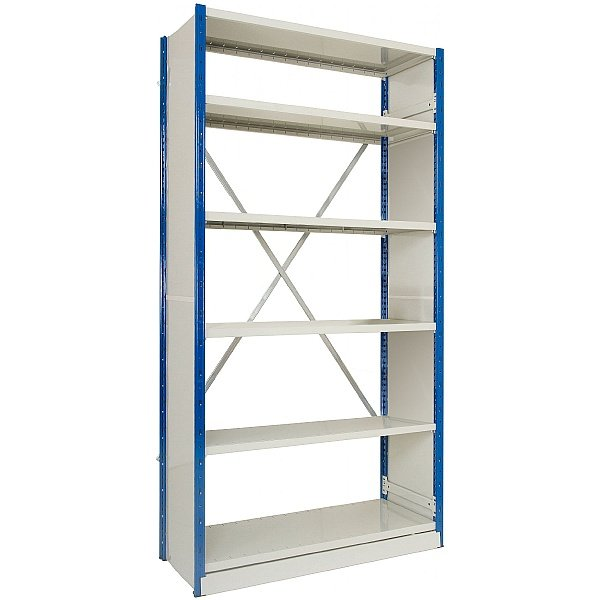 Clip-Fit Boltless Slotted Shelving System