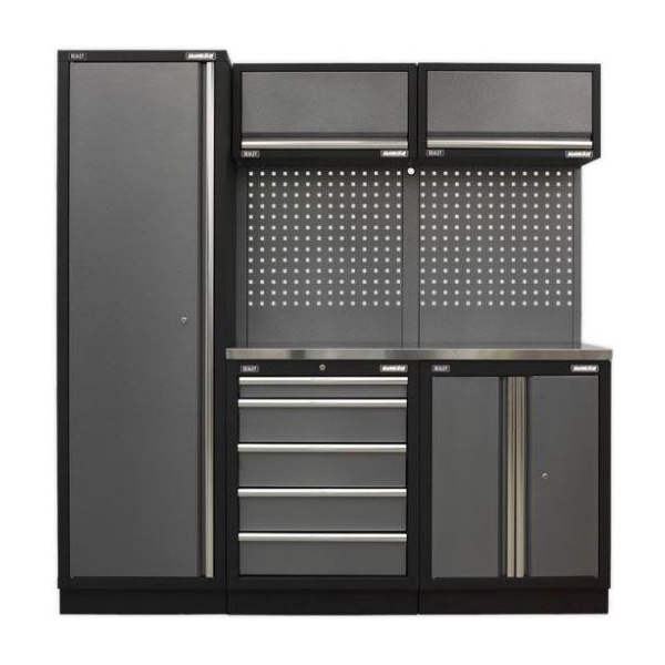 Sealey Superline Pro Modular Storage with Stainless Steel Worktop Package - B