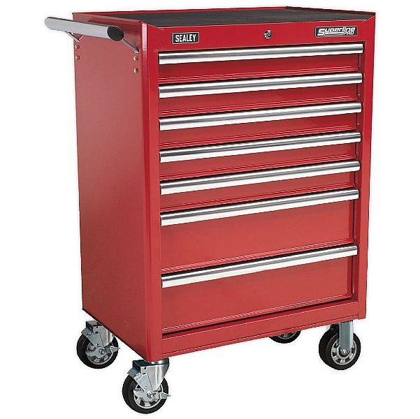 Sealey Rollcab 7 Drawer with Ball Bearing Slides