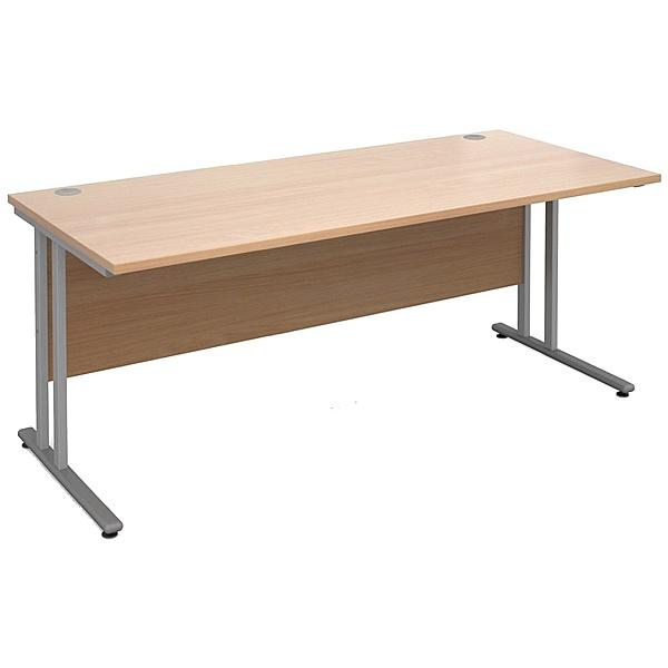 Braemar Pro Cantilever Rectangular Desk