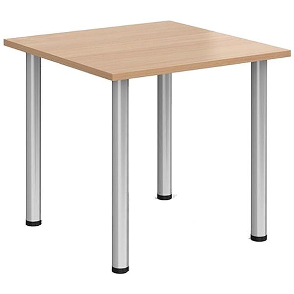 Everyday Tubular Leg Square Tables