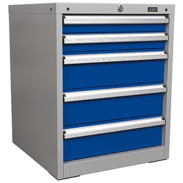 Sealey 5 Drawer Industrial Cabinet - 565W x 580D x 700H - Model A
