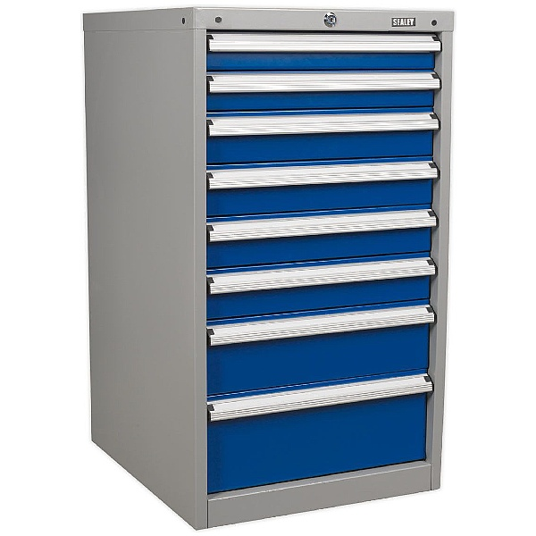 Sealey 8 Drawer Industrial Cabinet - 565W x 655D x 1000H - Model A