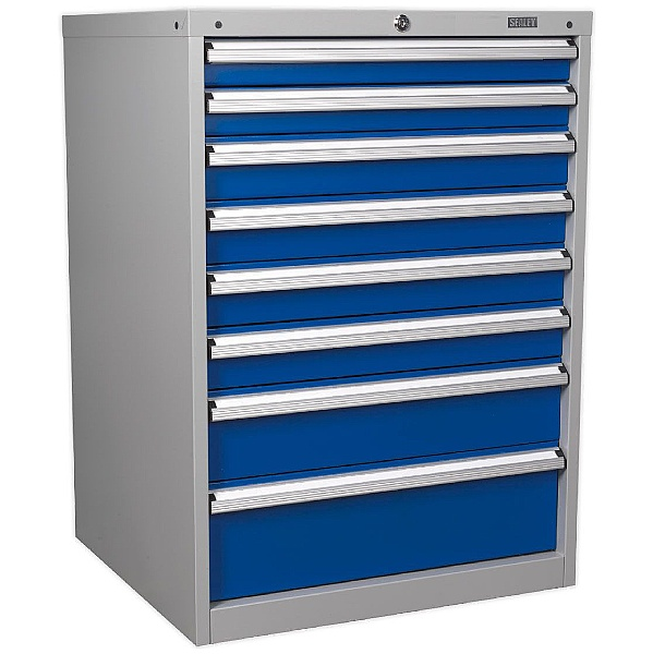 Sealey 8 Drawer Industrial Cabinet - 725W x 655D x 1000H- Model B