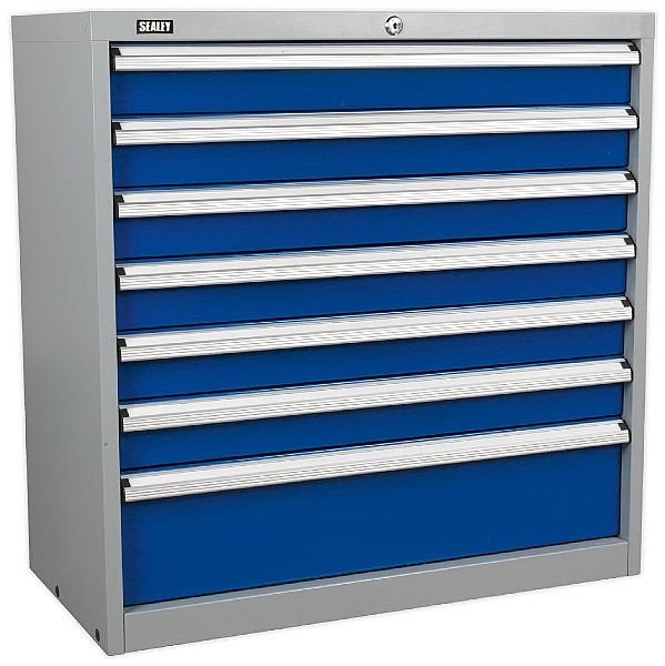 Sealey 7 Drawer Industrial Cabinet - 900W x 450D x 900H