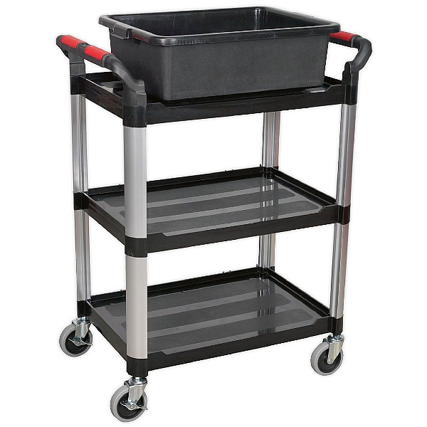 Sealey Workshop Trolley 3 Level Composite
