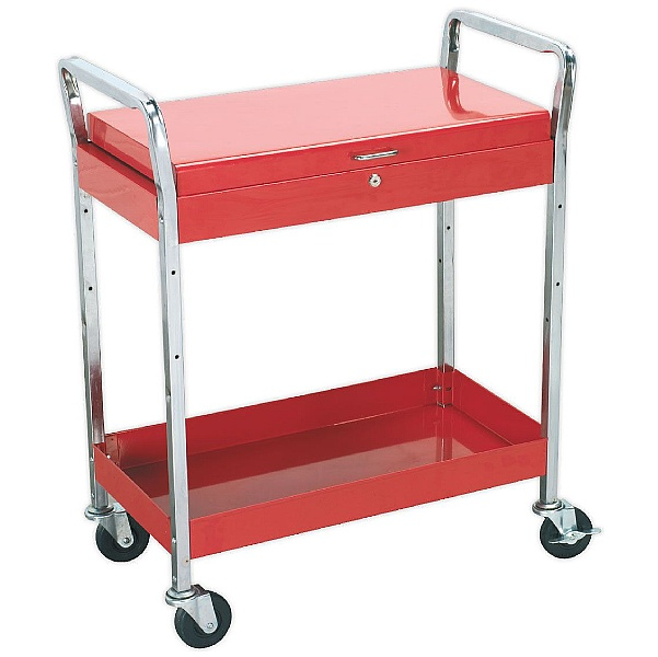 Sealey Heavy Duty Workshop Trolley With Lockable Top