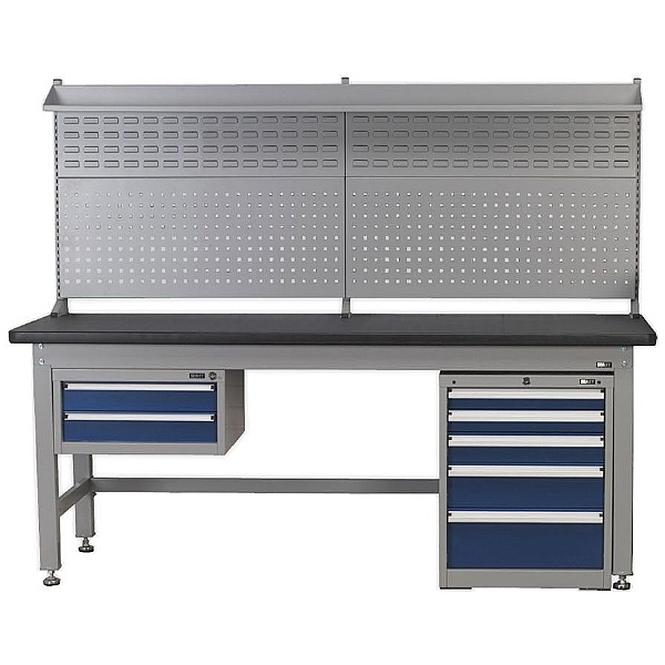 Sealey Premier Industrial Steel Workbench and Cabinet Combination