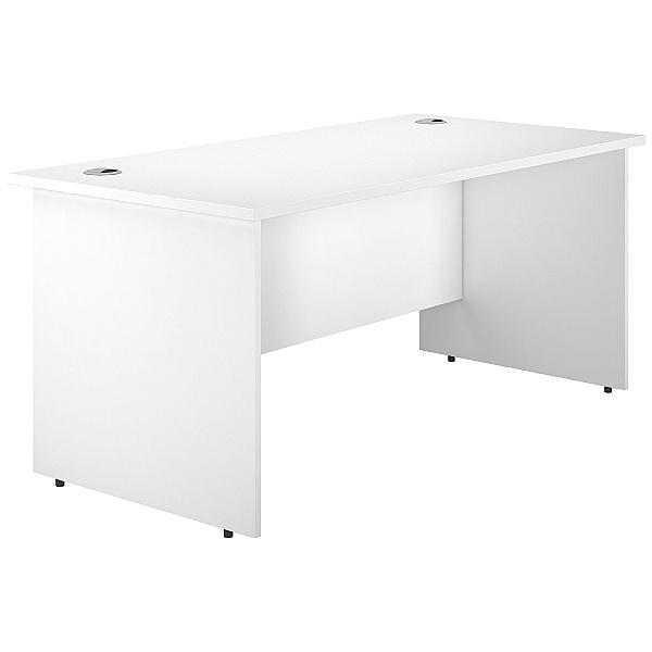 Next Day Polar Panel End Rectangular Desks