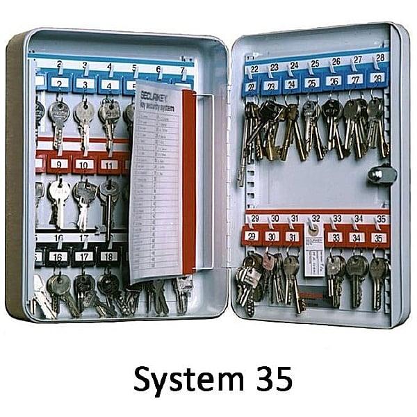 Securikey Deep System Key Cabinets