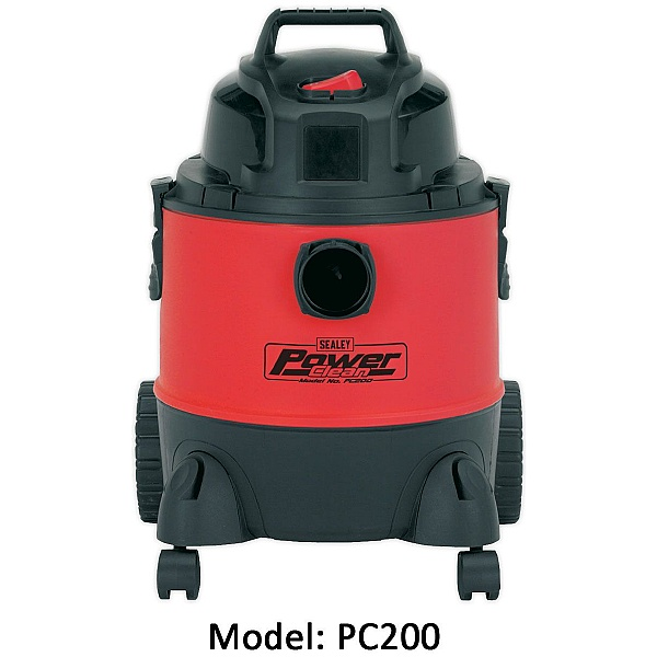Sealey Power Clean Wet & Dry High Capacity Vacuums