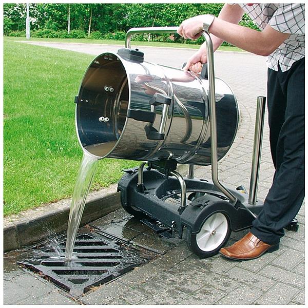 Sealey PC477 77L Vacuum Cleaner Industrial Wet & Dry Stainless Steel Drum