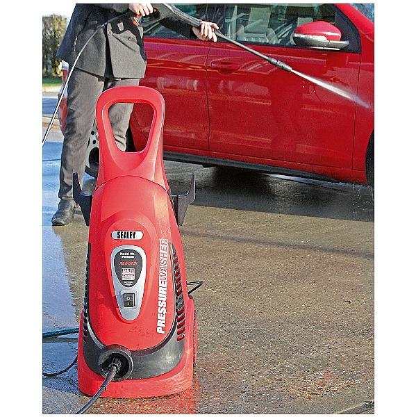 Sealey Pressure Washers with Rotablast Nozzle
