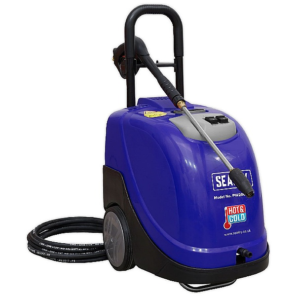 Sealey PW2000HW 135bar 230V Hot/Cold Water Pressure Washer