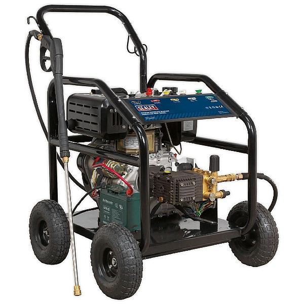 Sealey PWDM3600 290bar 900L/hr 10hp Diesel Pressure Washer