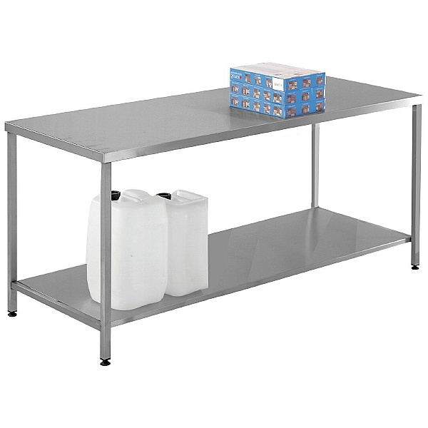 Select Stainless Steel Workbench With Lower Shelf