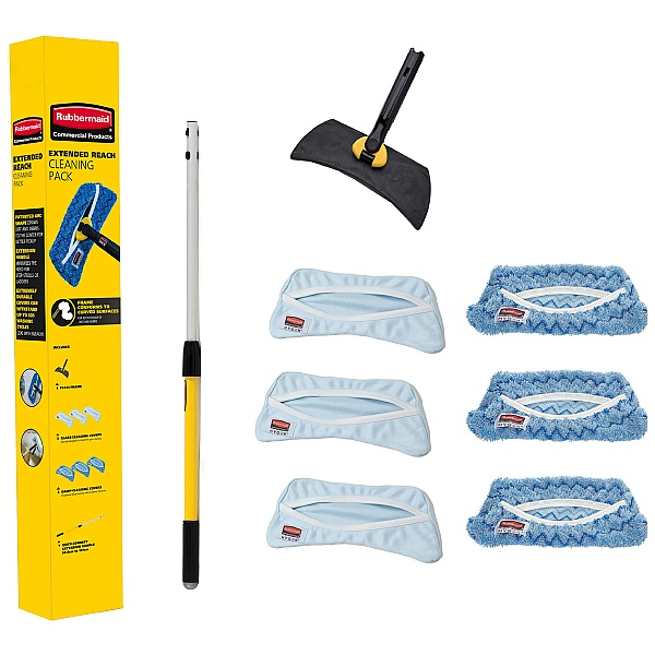 Rubbermaid Hygen Flexi Frame Cleaning Kit