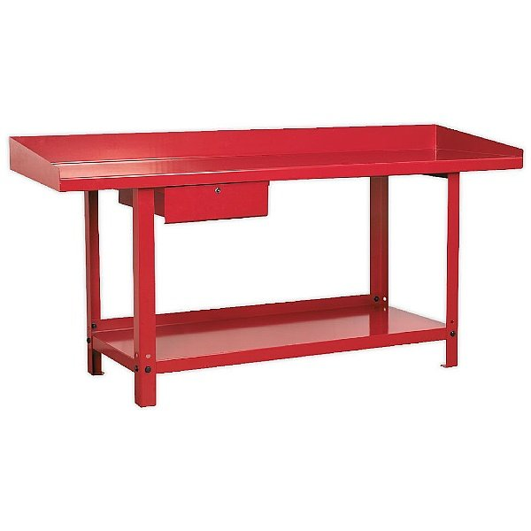 Sealey Steel Workbenches with Drawer and Retaining Lip