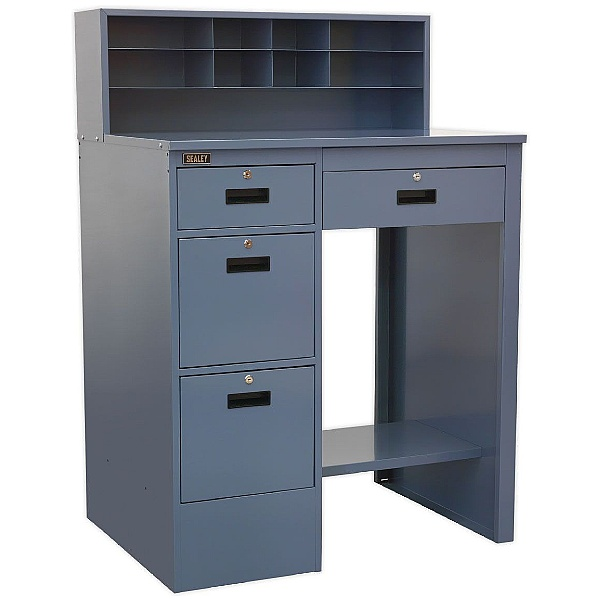 Sealey Industrial Grey Workstation with 4 Drawers